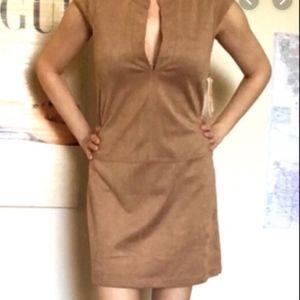 Gianni Bini Suede Dress XS
